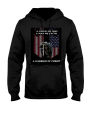 A Warrior of Christ Hooded Sweatshirt thumbnail