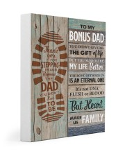 To my Bonus Dad Thank you for stepping  Gallery Wrapped Canvas Prints tile