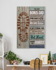 To my Bonus Dad Thank you for stepping  20x30 Gallery Wrapped Canvas Prints aos-canvas-pgw-20x30-lifestyle-front-03