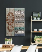 To my Bonus Dad Thank you for stepping  20x30 Gallery Wrapped Canvas Prints aos-canvas-pgw-20x30-lifestyle-front-04