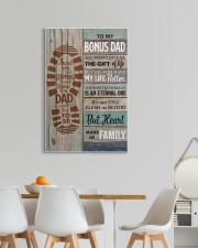 To my Bonus Dad Thank you for stepping  20x30 Gallery Wrapped Canvas Prints aos-canvas-pgw-20x30-lifestyle-front-05