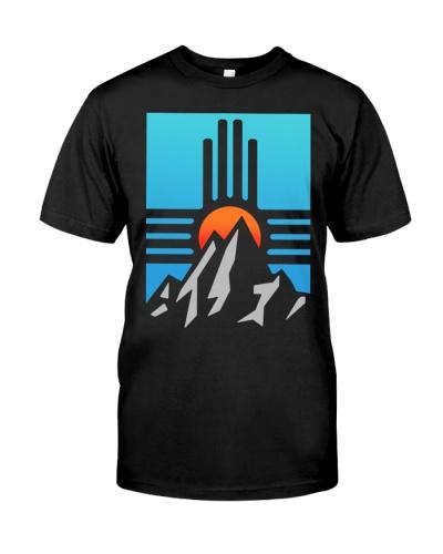 zia mountain sun and blue sky T Shirt