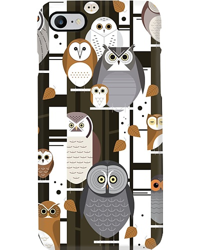 Owl case phone