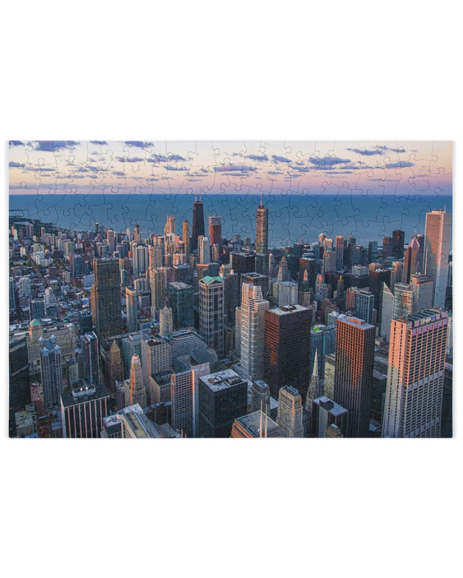 City Jigsaw Puzzles 250 Piece Puzzle (horizontal)