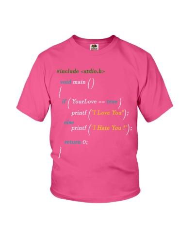 Code Lovers T-Shirt