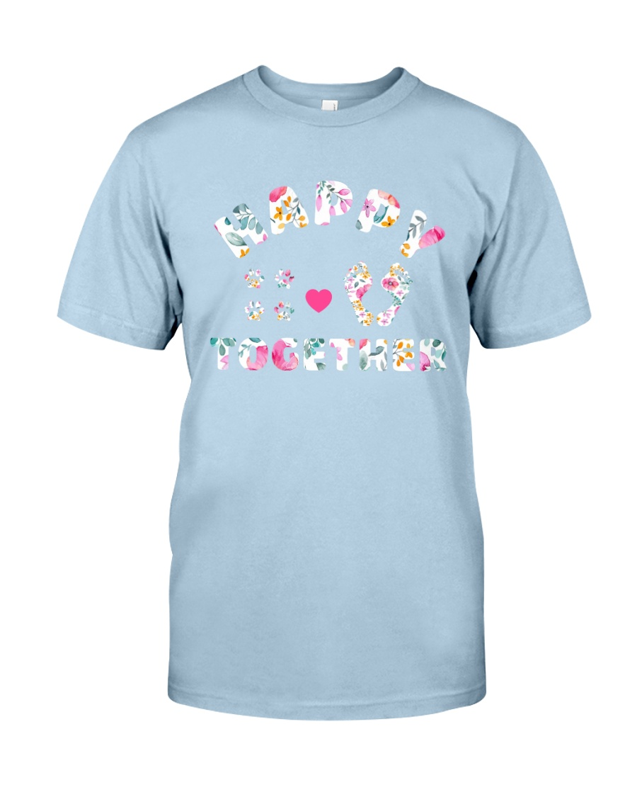 Happy Together - Dog Lovers Classic T-Shirt