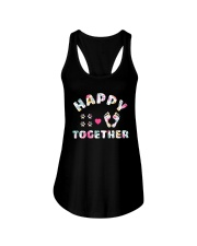 Happy Together - Dog Lovers Ladies Flowy Tank thumbnail