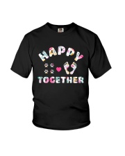 Happy Together - Dog Lovers Youth T-Shirt thumbnail