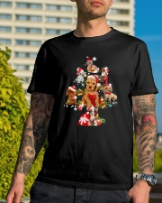 Dog Noel Tree - Christmas   Classic T-Shirt lifestyle-mens-crewneck-front-8