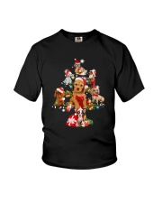 Dog Noel Tree - Christmas   Youth T-Shirt thumbnail
