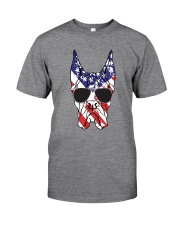 Great Danes American Flag - Happy 4th of July Classic T-Shirt thumbnail