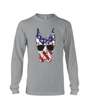 Great Danes American Flag - Happy 4th of July Long Sleeve Tee thumbnail