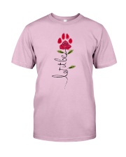 Let It Be Rose - Dog Paw Classic T-Shirt front