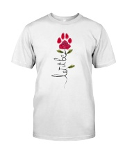 Let It Be Rose - Dog Paw Classic T-Shirt thumbnail