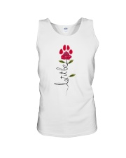 Let It Be Rose - Dog Paw Unisex Tank thumbnail
