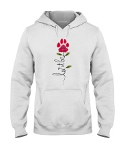 Let It Be Rose - Dog Paw Hooded Sweatshirt thumbnail