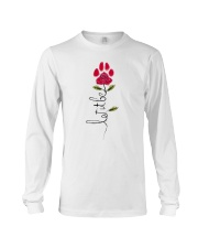 Let It Be Rose - Dog Paw Long Sleeve Tee thumbnail