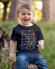 kid dinosaur Youth T-Shirt lifestyle-youth-tshirt-front-4