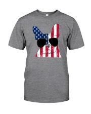 French Bulldog - Happy 4th of July Classic T-Shirt thumbnail