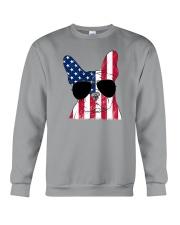 French Bulldog - Happy 4th of July Crewneck Sweatshirt thumbnail