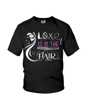 Love Is In The Hair Youth T-Shirt thumbnail