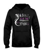 Love Is In The Hair Hooded Sweatshirt thumbnail