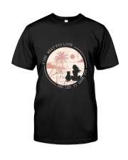 Find What You Love And Let it Save You - Cat Classic T-Shirt thumbnail