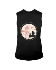 Find What You Love And Let it Save You - Cat Sleeveless Tee thumbnail