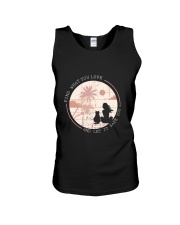 Find What You Love And Let it Save You - Cat Unisex Tank thumbnail