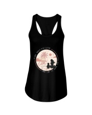 Find What You Love And Let it Save You - Cat Ladies Flowy Tank thumbnail