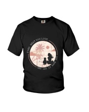 Find What You Love And Let it Save You - Cat Youth T-Shirt thumbnail