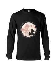 Find What You Love And Let it Save You - Cat Long Sleeve Tee thumbnail