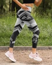 Dragon legging High Waist Leggings aos-high-waist-leggings-lifestyle-15