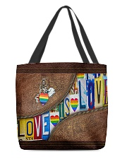 Love is love All-over Tote back