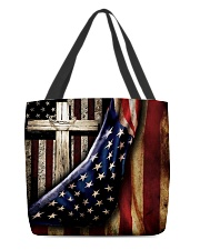 American flag All-over Tote front