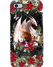 Xmas Dragon Phone Case i-phone-8-case