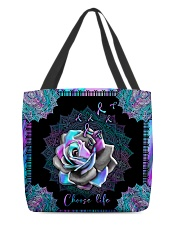 Choose life All-over Tote back