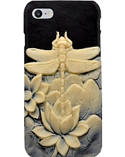 Dragonfly silicon mold print  Phone Case i-phone-8-case