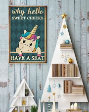 Sweet cheeks have a seat  11x17 Poster lifestyle-holiday-poster-2