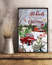 All hearts come home for Christmas 11x17 Poster lifestyle-poster-3