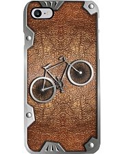 Cycling Metal Pattern Print  Phone Case i-phone-8-case