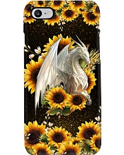 Dragon Sunflowers Phone Case i-phone-8-case