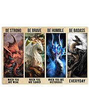 Be Brave 17x11 Poster front