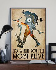 Go where you feel most alive 11x17 Poster lifestyle-poster-2