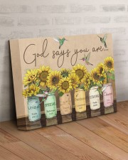 God says you are 14x11 Gallery Wrapped Canvas Prints aos-canvas-pgw-14x11-lifestyle-front-07