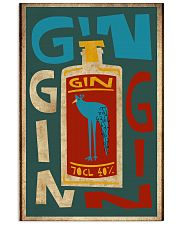 Retro gin 11x17 Poster front