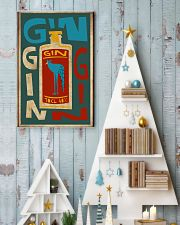 Retro gin 11x17 Poster lifestyle-holiday-poster-2