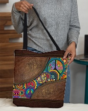 Hippie soul All-over Tote aos-all-over-tote-lifestyle-front-10