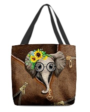 Elephant All-over Tote back