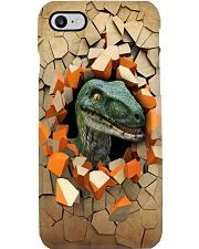 Peeking dinosaur Phone Case i-phone-8-case
